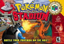 Pokemon stadium box