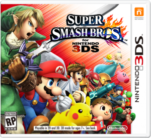 Super Smash Bros for 3DS Box Art
