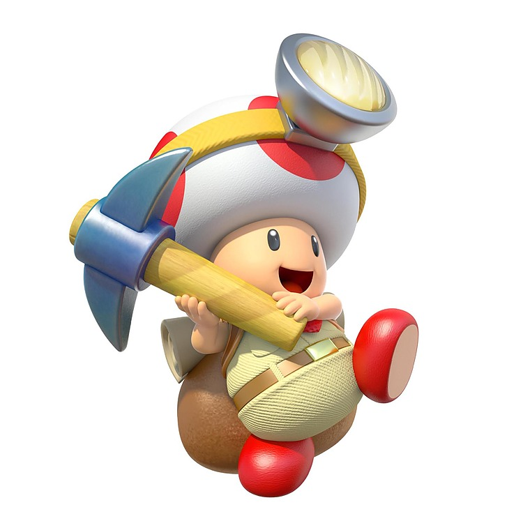 The Adventures Of Captain Toad New Artwork Gaming