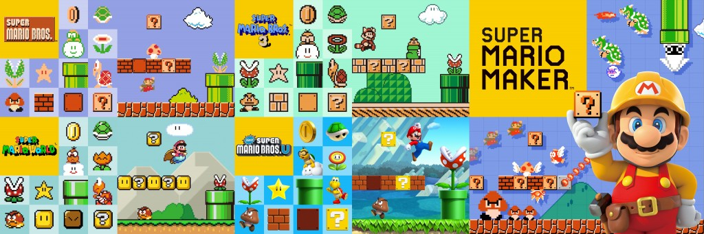 Super Mario Maker Artwork