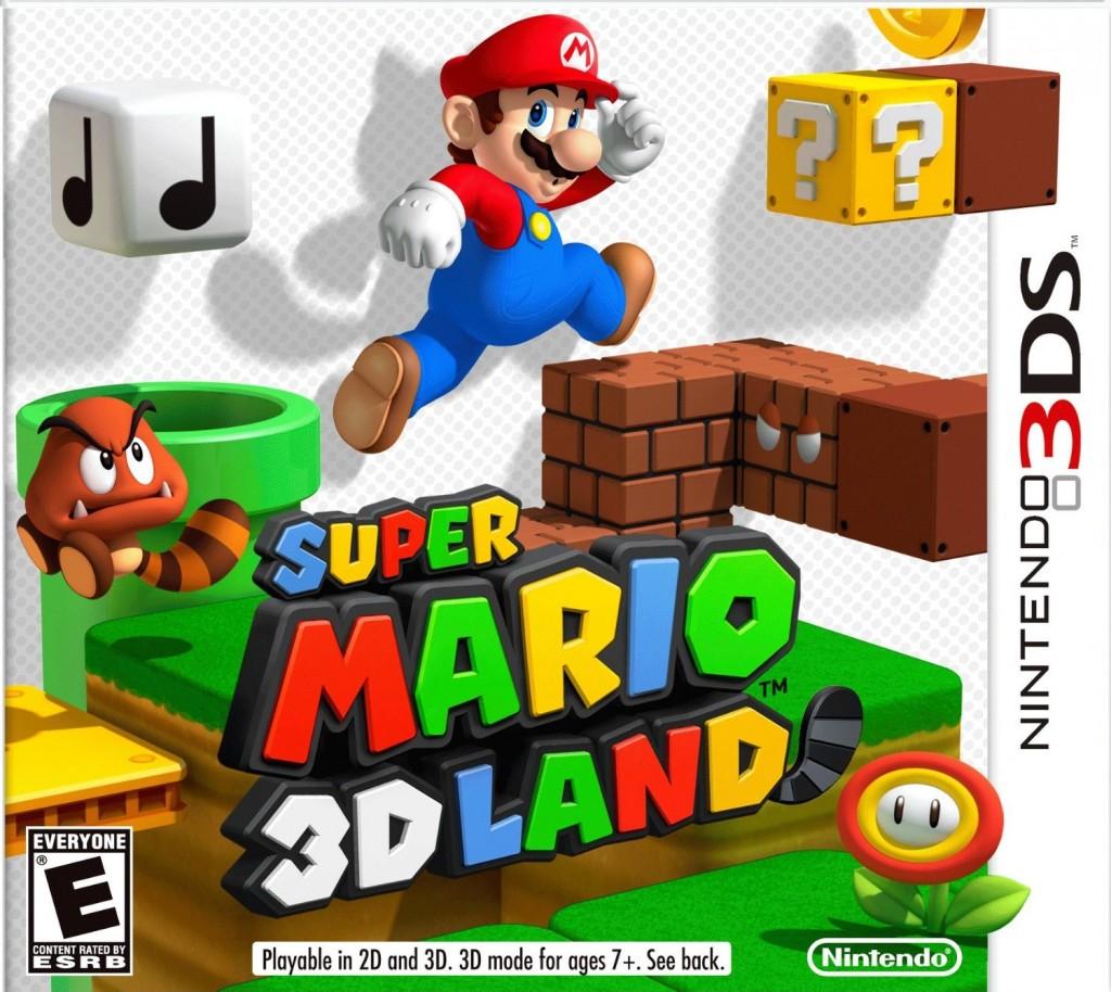 mario 3d land box