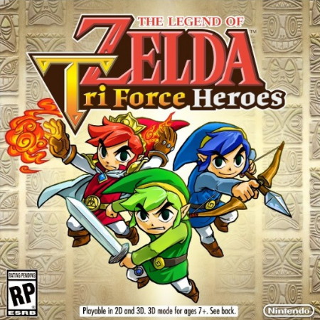 The Legend Of Zelda Tri Force Heroes Box