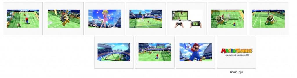 Mario Tennis Media