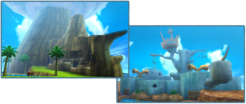 Wind Waker Stages
