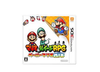 Mario & Luigi Paper Jam Box Art