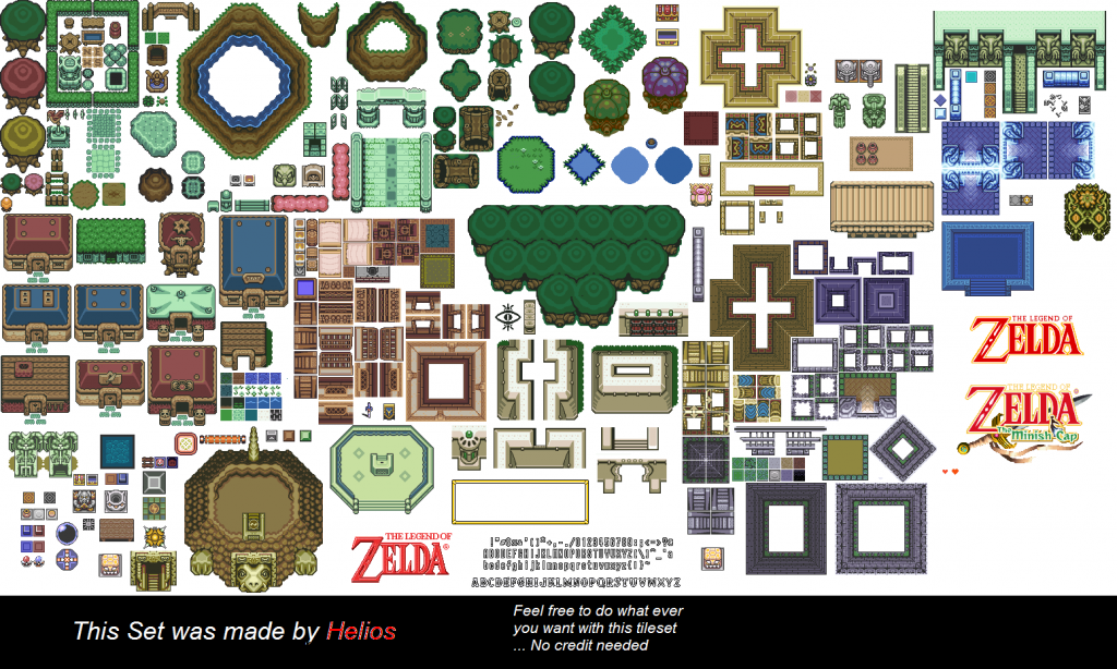SNES - The Legend of Zelda A Link to the Past - BG Kit 1