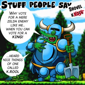 K Rool Shovel Knight