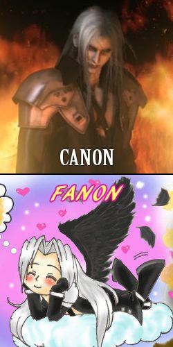 Sephiroth comparison
