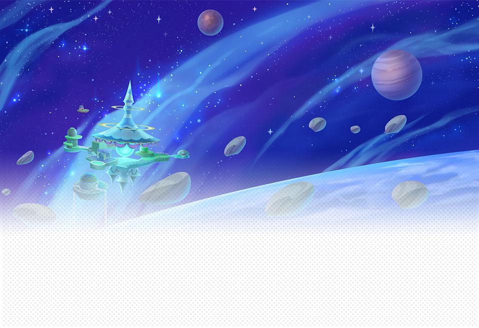 Mario Galaxy Area