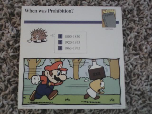 Mario Prohibition