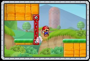 Mario wall kick
