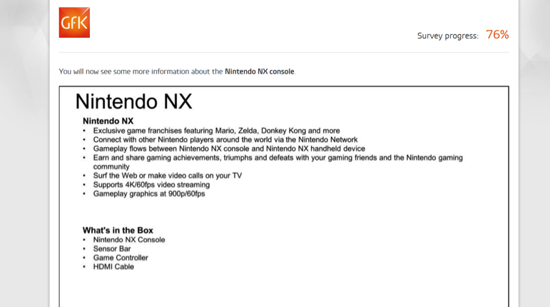 Nintendo NX Info