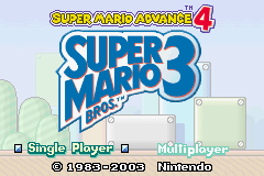 mario advance 4 mod title