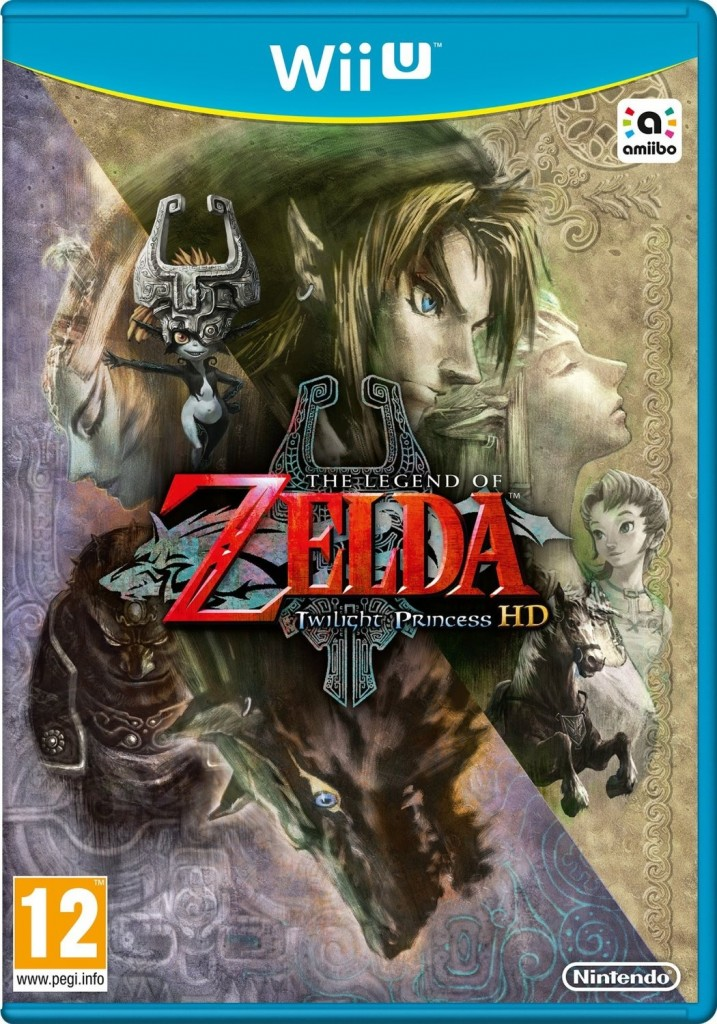 twilight princess hd box europe