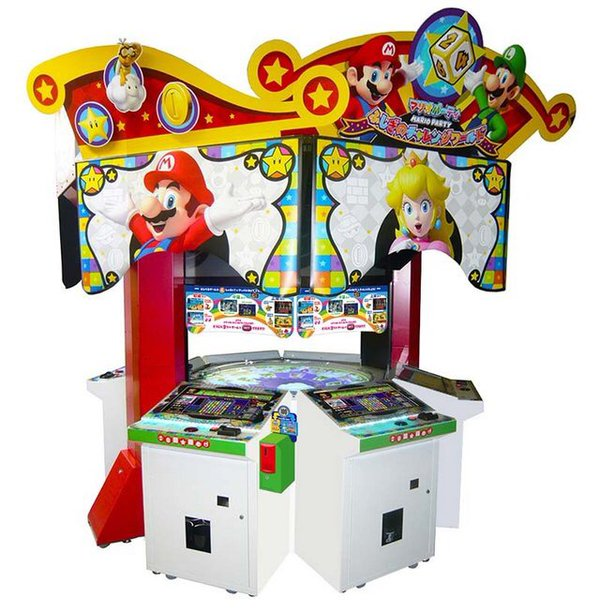 mario party arcade machine