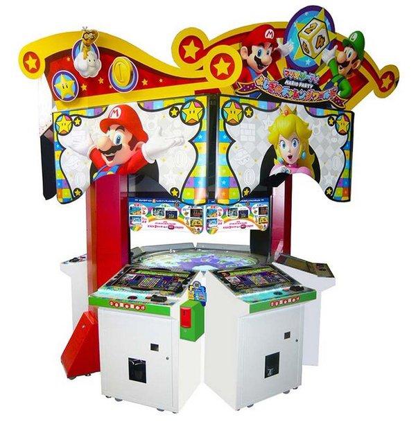 mario party arcade machine