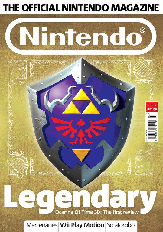 Official Nintendo Magazine cover