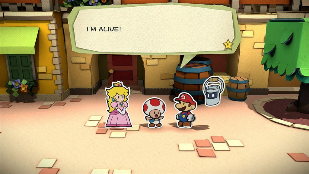 Paper Mario Colour Splash 1
