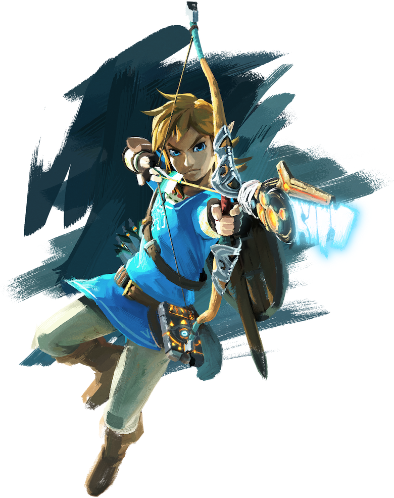 Zelda Wii U Link Artwork