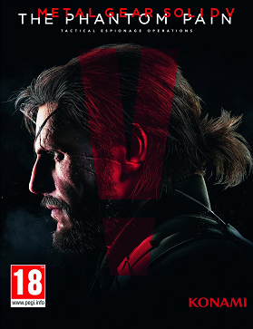 Metal Gear Solid V cover