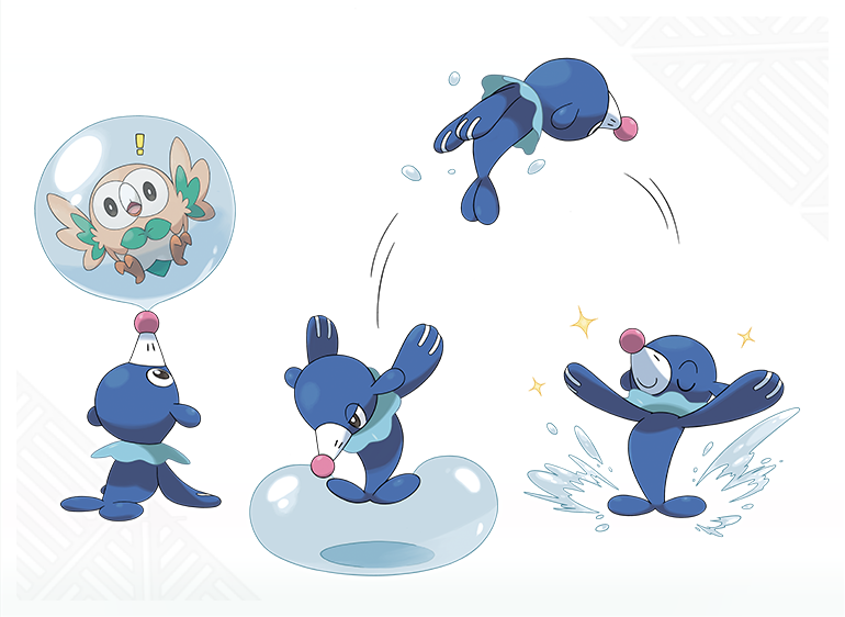 Popplio Animation