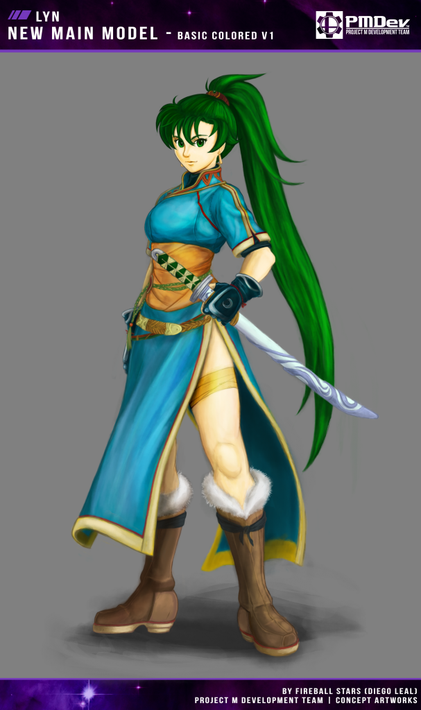 Lyn Colored ConceptArt - v1