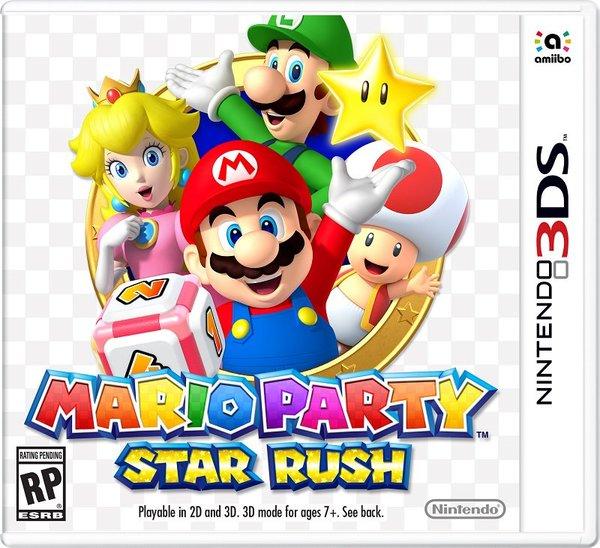 Mario Party Star Rush Box
