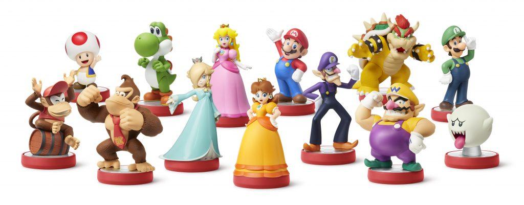 Mario Series Amiibo