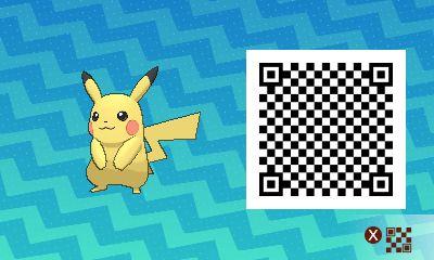 Pikachu QR code