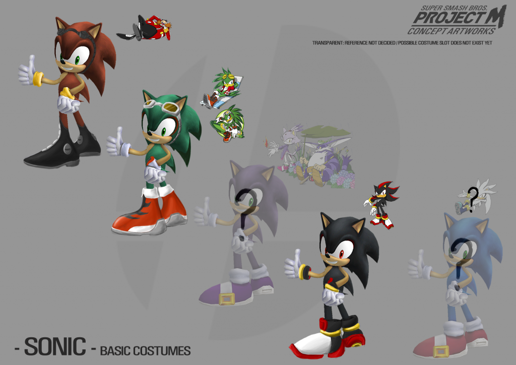 Sonic Old Semi-Alt Mockup