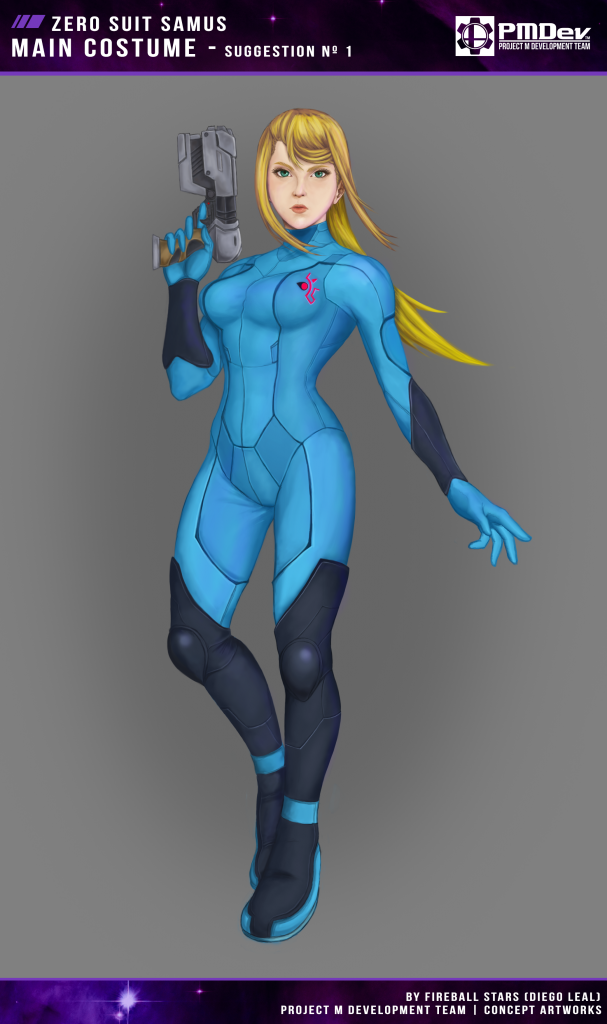 Zero Suit Samus New Design -Suggestion 01