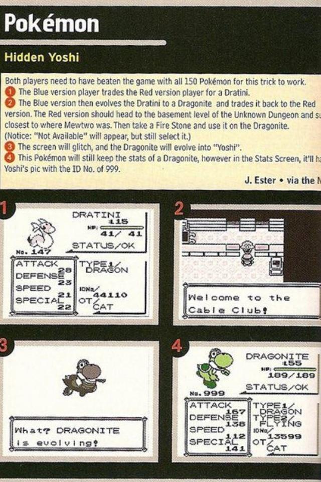 pokemon yoshi