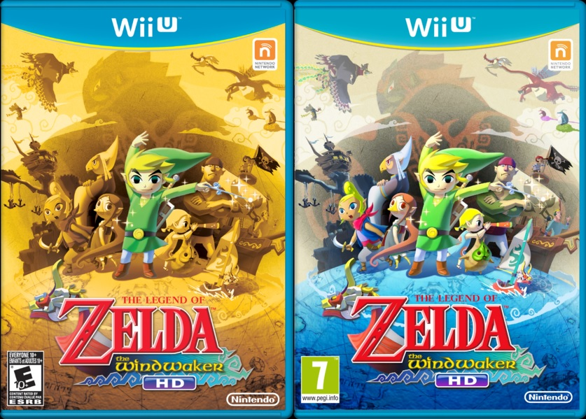 Wind Waker HD Comparison