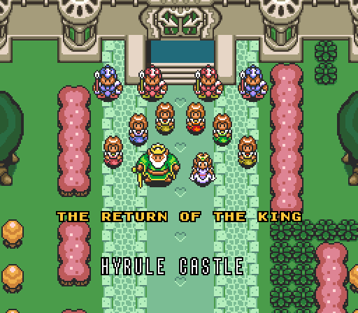 ALttP_The_Return_of_the_King_Credits_Scene