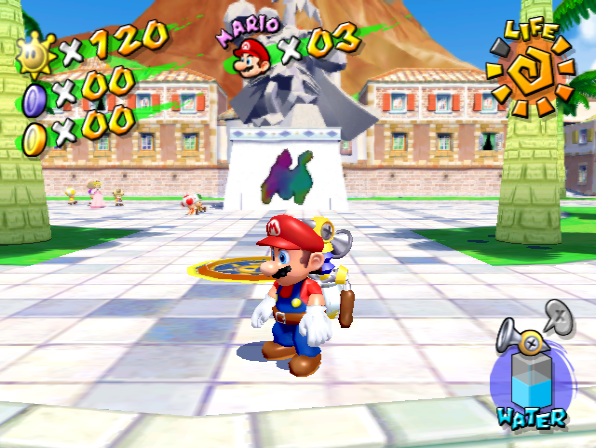 Mario Sunshine Multiplayer Camera