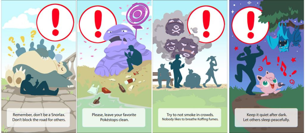 Pokemon GO Splash Concepts