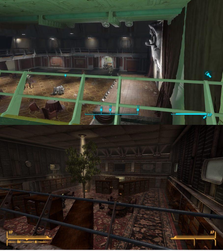 fallout comparison