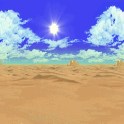 mario 64 desert