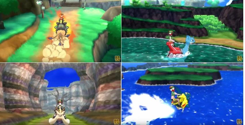 pokemon riding