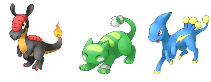 Pokemon Uranium Starters