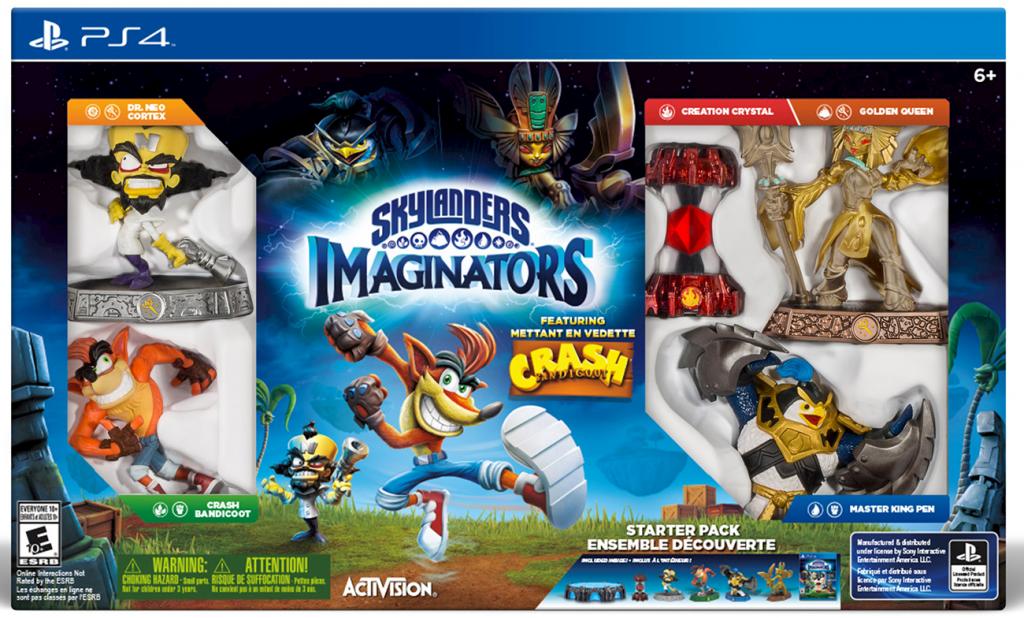 Skylanders Imaginators PS4 Crash Edition Final Box