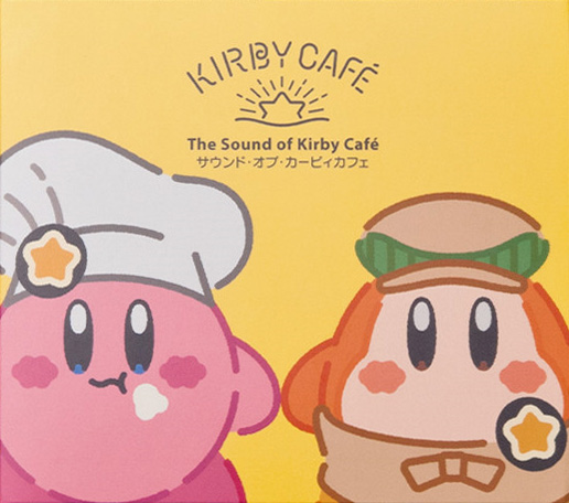 Kirby Cafe Soundtrack cover