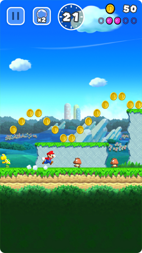 Super Mario Run Plains