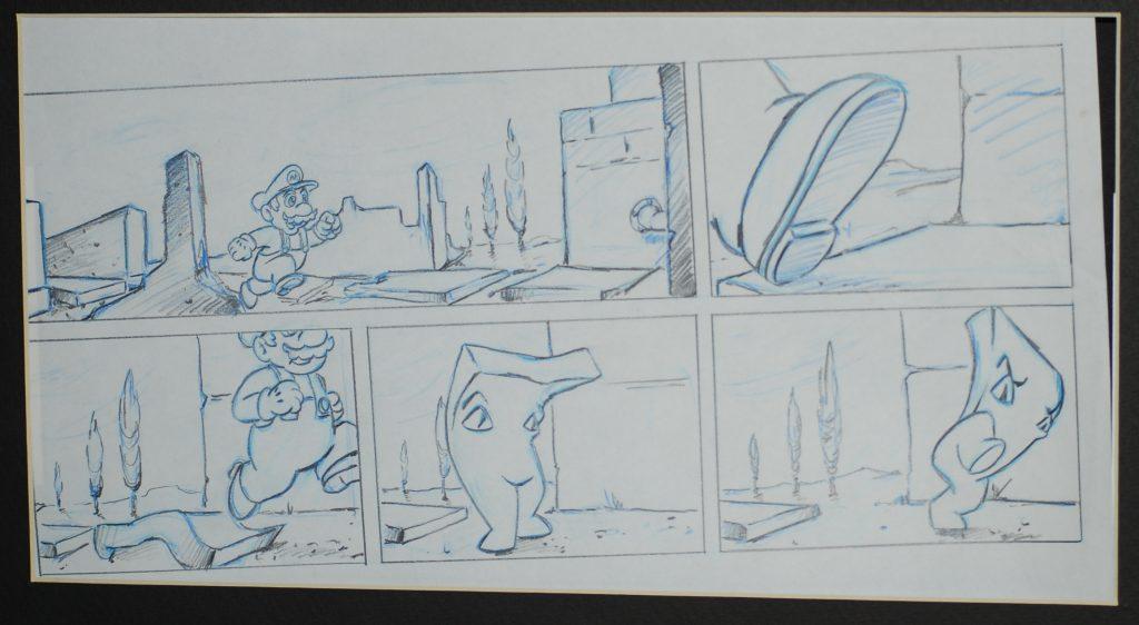 mario storyboard