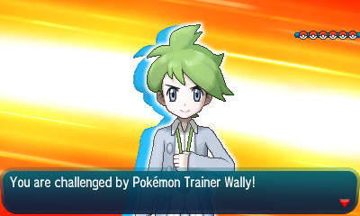 Pokemon Rising Sun Wally