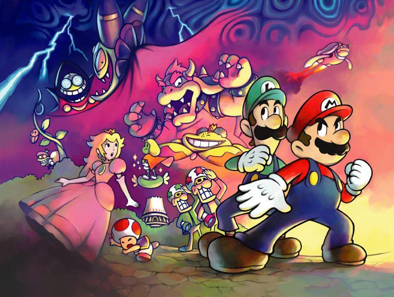 Mario Luigi Superstar Saga May Be Getting A 3ds Remake