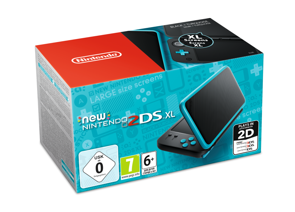 Nintendo announces the new nintendo 2ds xl gaming reinvented for Housse new 2ds xl