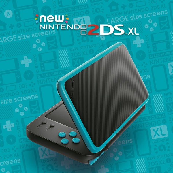 New 2DS XL Promo Blue
