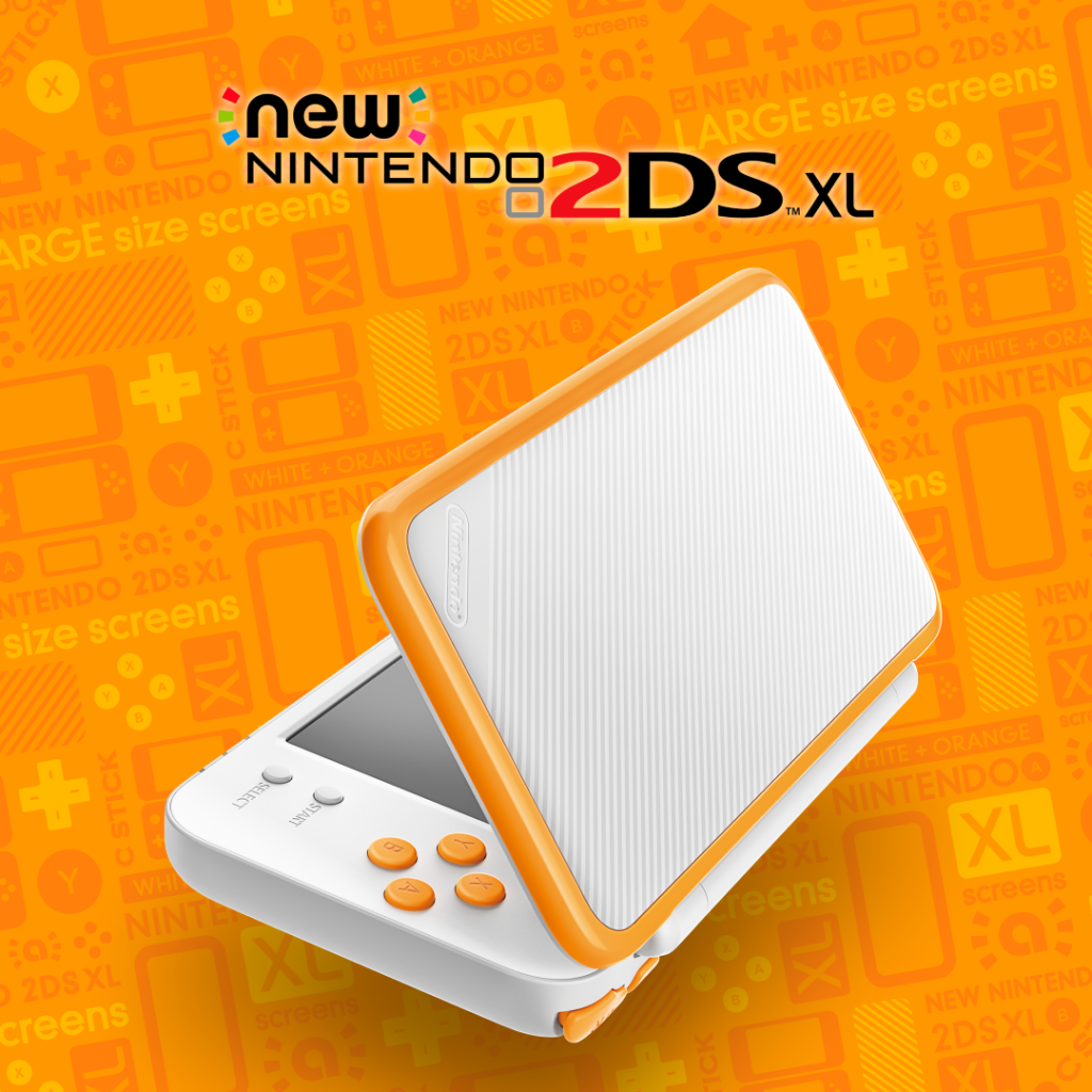 New 2DS XL Promo Yellow