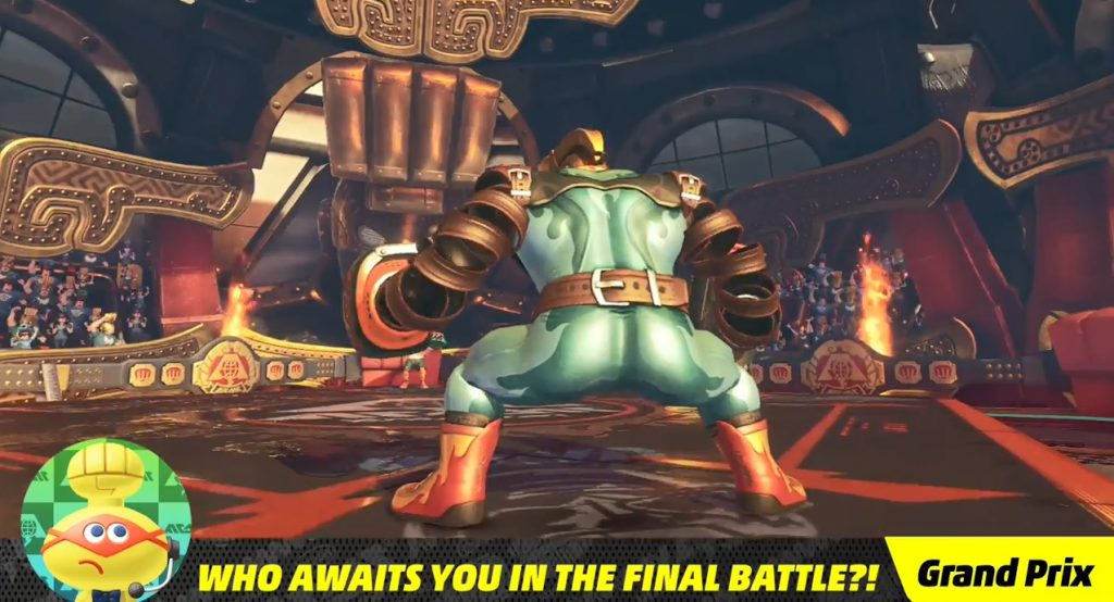 ARMS Final Boss Appearance 1